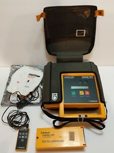 Medtronic Physio Control Lifepak 500t Aed Trainer W remote Battery Pack