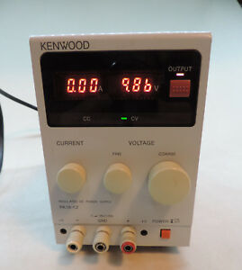 Kenwood Pa18 1 2a Variable Dc Power Supply