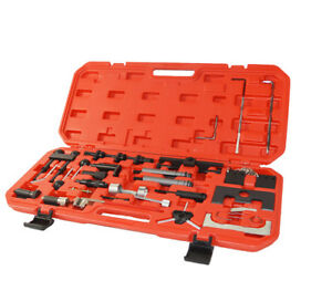 36pcs Audi Vag Master Engine Timing Tool Set Kit for Vag vw audi seat skoda
