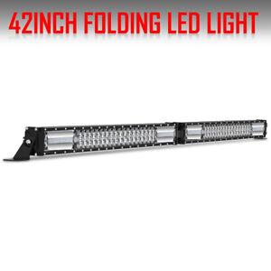 Philips 20inch Led Work Light Bar Triple Row Spot Flood Combo 4wd Offroad 19