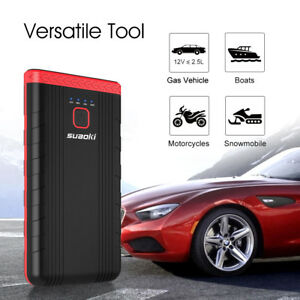 Suaoki U3 Portable Car Jump Starter Booster Emergency Battery Charger Power Bank