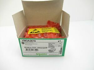 Vw3a3616 Schneider Electric Altivar Ethernet Ip And Modbus Tcp new In Box