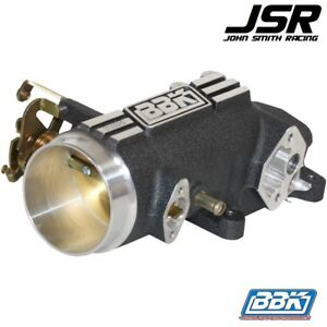 96 04 Mustang Gt Bbk Performance 73mm Throttle Body Intake Plenum Charcoal