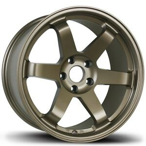 Avid1 Av06 18x9 5 24 5x114 3 Bronze Concave Civic Evo 350z 240sx Rsx Tsx Is300