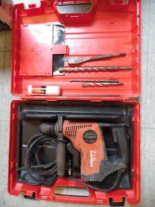 Hilti Te 7 c Powerful Triple mode Corded Sds Rotary Hammer Drill With Bits
