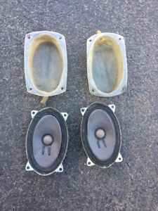 Porsche 944 924s Original Genuine Blaupunkt Speakers Pair Oem