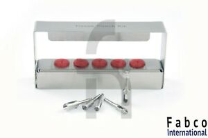 Dental Implant Tissue Punch Kit Set Surgical Surgery With Bur Holder