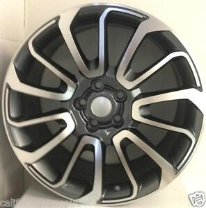 24 Wheels Rims For Range Rover Sport Hse Supercharged Land Rover Sport Hse