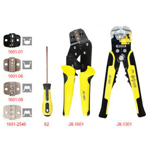 4 In 1 Crimpers Ratcheting Terminal Crimping Pliers With Wire Stripper Tool Set