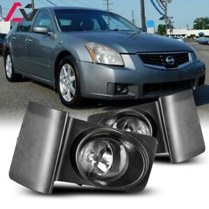 For Nissan Maxima 07 08 Clear Lens Pair Oe Fog Light Lamp Wiring Switch Kit Dot
