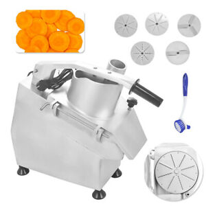 550w Commercial Food Processor Vegetable Cutter 300kg h Vegetable fruit Slicer