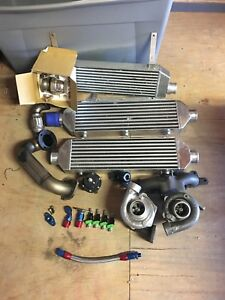 Turbo Charger Garrett Ball Bearing Upgraded With Spa Godspeed Kompact Innercool