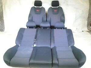 Mk4 Vw Jetta Golf 00 01 02 03 04 05 Recaro Big Bolster Gli Seats Set Front Rear