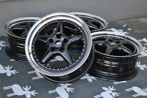 Abt A10 Wheels 8x18 5x112 Vw Audi A9 A4 Gti Golf S4 S6 Turbo Artec Bbs Oz Rh Rs