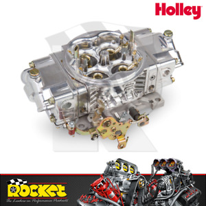 Holley 850cfm 4 barrel Aluminium Street Hp Carburettor Ho0 82851sa