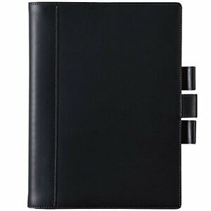 Maruman Note Cover Somes B5 Mnemosyne Leather Nc1194a F s