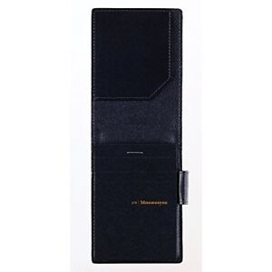 Maruman Somes A7 Note Mnemosyne With Leather Holder Hn179la F s