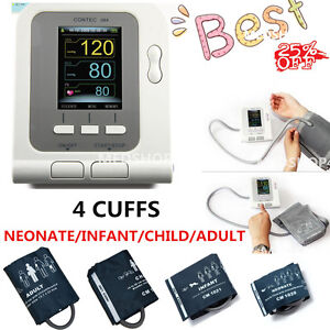 Digital Color Lcd Blood Pressure Monitor Pediatric Adult pc Software home Care