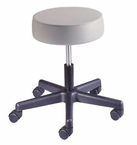 New Brewer Dental Doctor s Spin Lift Exam Stool Chair Seat Picture Color