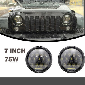 Led Headlight Military Truck Lite Hummer M998 M923 M35a2 24v Humvee 5 Ton