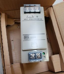 Omron Power Supply 100 To 240 V Ac 24v Dc 5a Part S8vs 12024