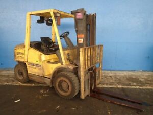 Hyster H70xm Gasoline Forklift 7500 Lbs 02180272467