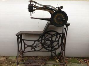 Antique Politype 4 Leather Cobbler Patcher Industrial Sewing Machine Rare