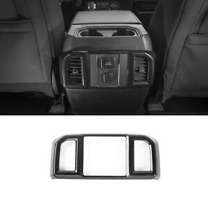 1x Car Rear Air Conditioning Outlet Vents Cover Frame Trim For Ford F150 F 150