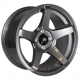 Mst Mt09 15x8 20 4x100 Gunmetal Concave set Of 4