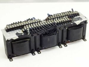 Varian M e d 3 Gang Tapped Inductor For High Voltage Power Supply 01 000531