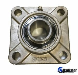 Sucsf205 16 Gladiator 1 Stainless Steel 4 bolt Flange Bearing