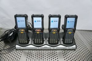 Lot Of 4 Symbol Motorola Mc9190 ga0swgya6wr Mobile Computer Scanner
