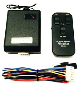 Accurate Air Level Touchpad Control Kit Black Anodize Air Bag Suspension Customs