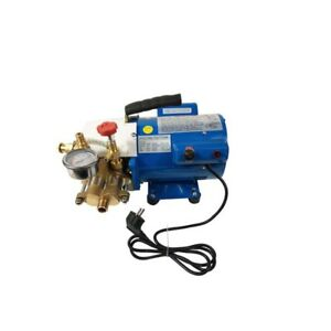 6mpa Electric Pressure Test Pump Hydraulic Piston Testing Pump 110v 400w