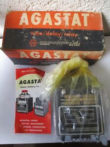 Agastat Ne 21 Time Delay Electromagnetic Relay