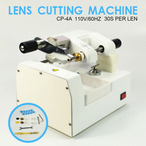 Hq Cp 4a 30s lens Optometry Eyeglass Optical Lens Cutter Cutting Milling Machine