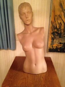 Adel Rootstein Vintage Female Mannequin Torso Only yasmin Lebon Ar1b