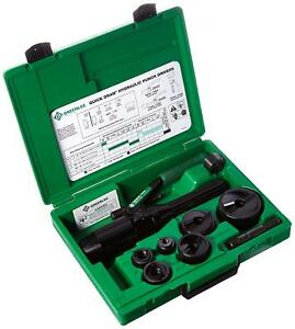 Greenlee 7806 sb Quick Draw Hydraulic Punch Driver And Kit With Conduit Size