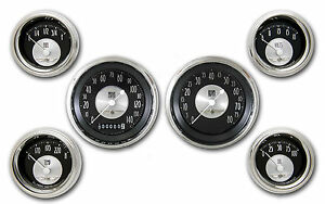 Classic Instruments All American Tradition Series 6 Gauge Set At01shc Speedo