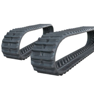 Pair Of Prowler Caterpillar Ms040 Rubber Tracks 420x100x52 17