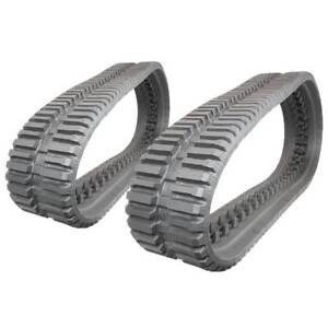 Pair Of Prowler Bobcat T590 At Tread Rubber Tracks 320x86x49 13