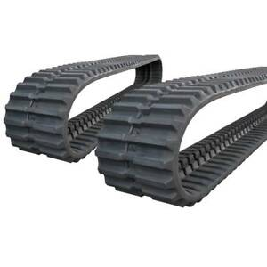 Pair Of Prowler Case 9700 Rubber Tracks 450x73 5x80 18