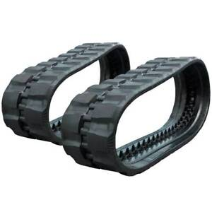 Pair Of Prowler Loegering Vts 60 Links Rd Tread Rubber Tracks 450x86x60 18