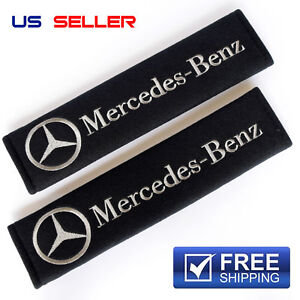 Shoulder Pads Seat Belt 2pcs For Mercedes Benz Sp25 Us Seller