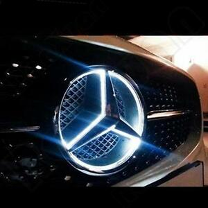 Grille Grill Star Emblem Badge For Mercedes Benz 06 2013 Illuminated Led Light