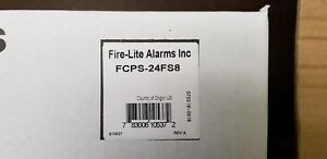 Fire lite Fcps 24fs8 8 Amp Nac Power Supply Panel For Fire Alarm By Honeywell