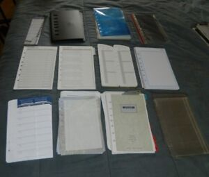 Huge Classic Size Franklin Covey Planner binder accessory Pack Lot
