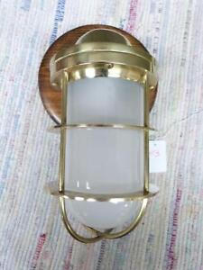 Brass Nautical Maritime Ships Decor Wall Light Lamp For Dry Locations 3