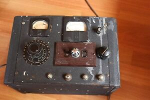 Vintage General Radio Type 200 B Variac Varible Transformer In Bud Rad Enclosure