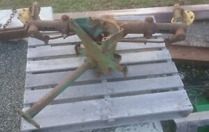 John Deere M Wide Front Axle Front End Hub 2 Cylinder Two